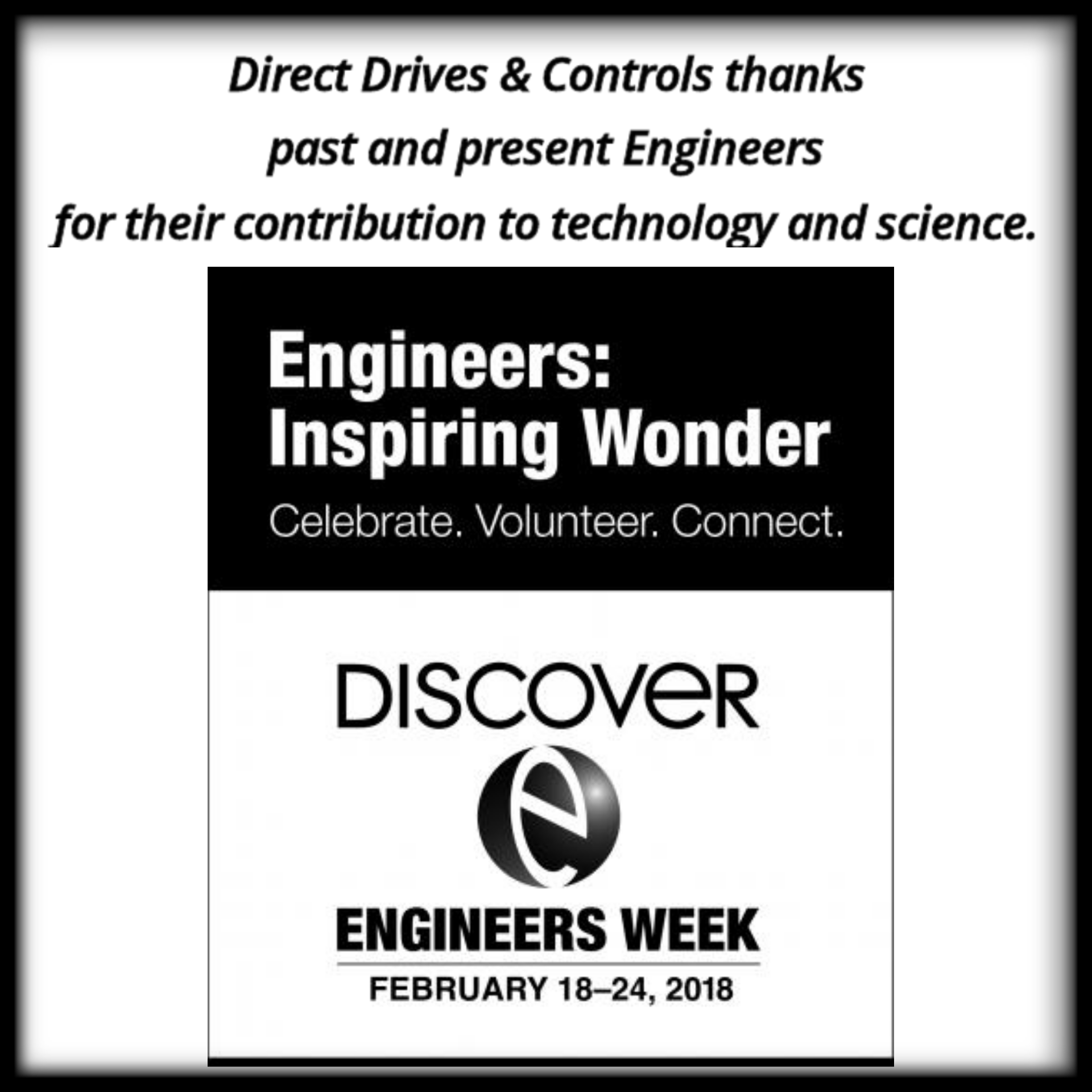 Thank you to engineers